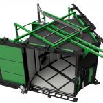 Macchina per stampaggio rotazionale carosello 2500 green