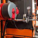 Bruciatore macchina per stampaggio rotazionale rotoplastic