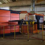 macchina per stampaggio rotazionale rotoplastic